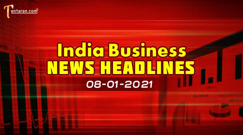 latest india business news today 8 january 2021