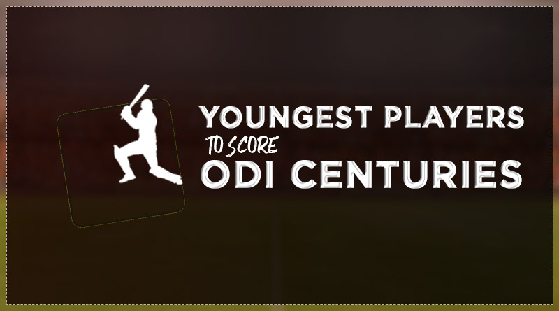 youngest players to score odi centuries