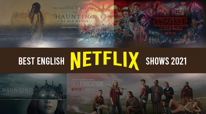 best english Netflix shows 2021