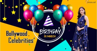 Bollywood celebrities' birthday in march- Famous People's Birthdays in March