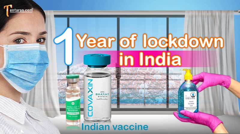 one year of lockdown in india image