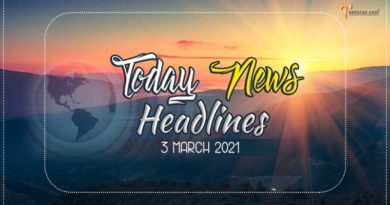 Latest India News: Read today news headlines 3 March 2021