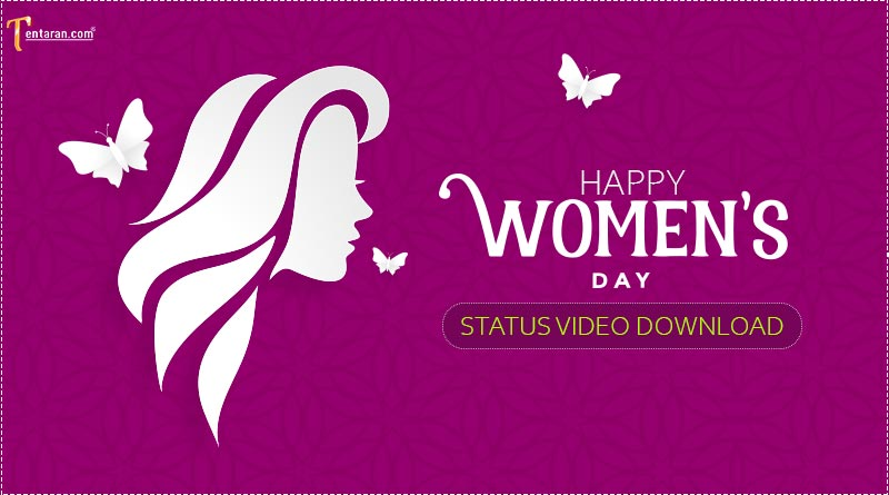 womens day status video download