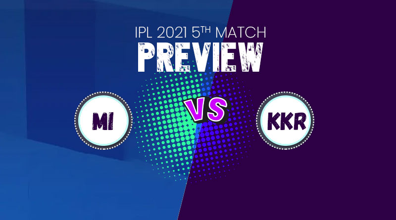 IPL 2021 KKR vs MI Match live streaming channel online