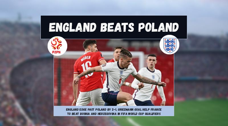 fifa world cup qualifiers england vs poland highlights