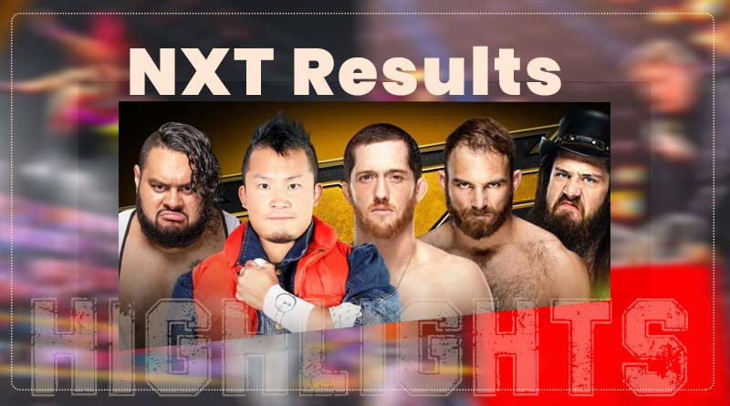 wwe nxt takeover results 8 april 2021