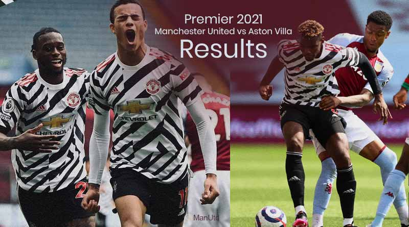 Premier 2021 Manchester United vs Aston Villa Results