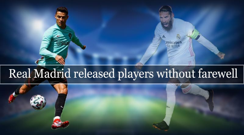 real madrid released players without farewell