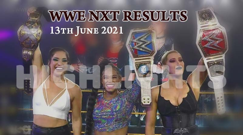 wwe nxt results 13 june 2021