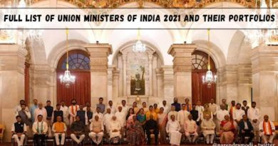 Full list of Union Ministers of India 2021 and their portfolios