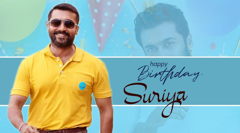happy birthday Suriya images wishes quotes