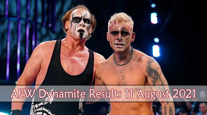 aew dynamite results 11 august 2021