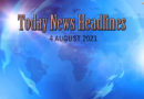 Latest India News: Read today news headlines 4 August 2021