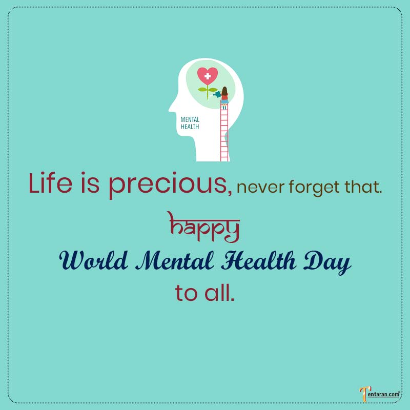 world mental health day messages